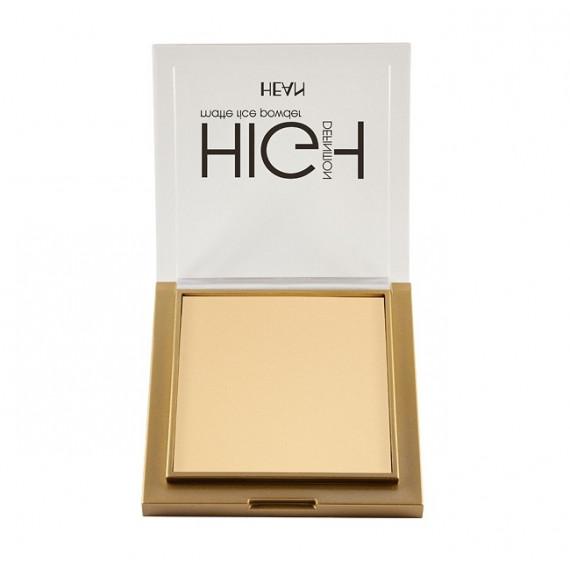 Hean, Puder ryżowy matujący High Definition 301, 9g
