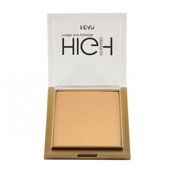 Hean, Puder ryżowy matujący High Definition 304, 9g