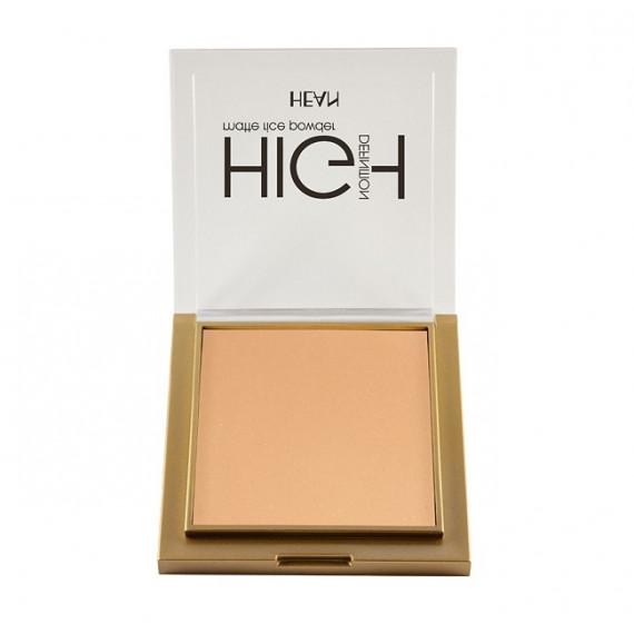 Hean, Puder ryżowy matujący High Definition 305, 9g