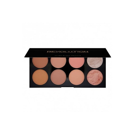 Makeup Revolution Paleta Róży Hot Spice