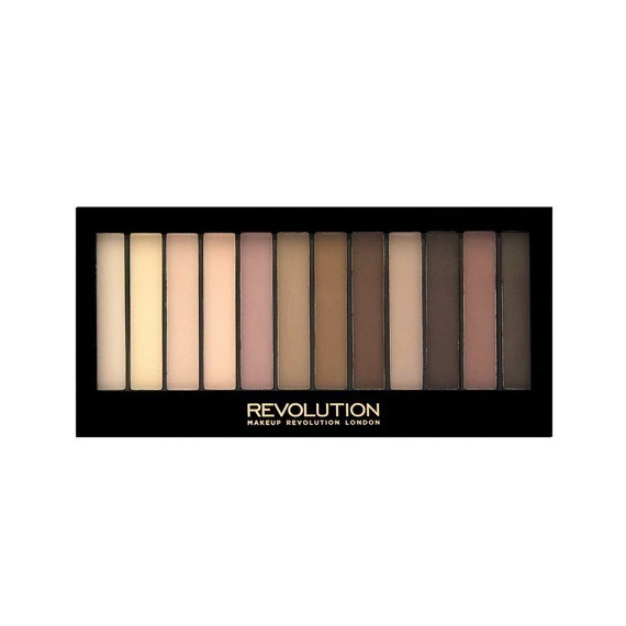 Makeup Revolution Paleta Cieni do Powiek Essential Mattes 2
