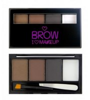 Makeup Revolution Bold is Best Zestaw do Brwi