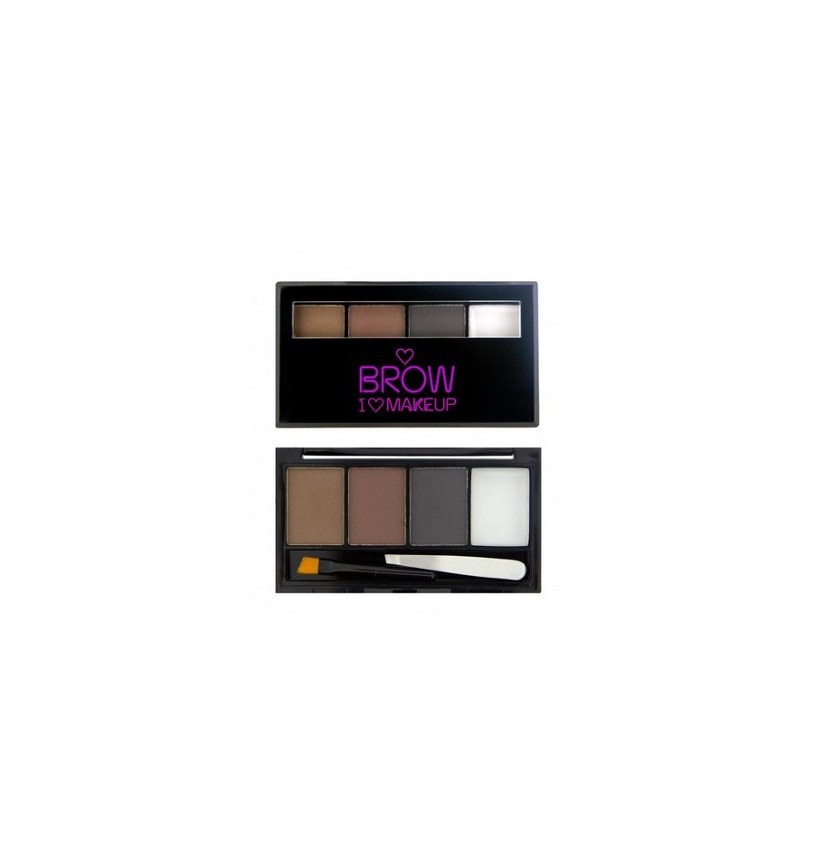 Makeup Revolution Bold is Best Zestaw do Brwi