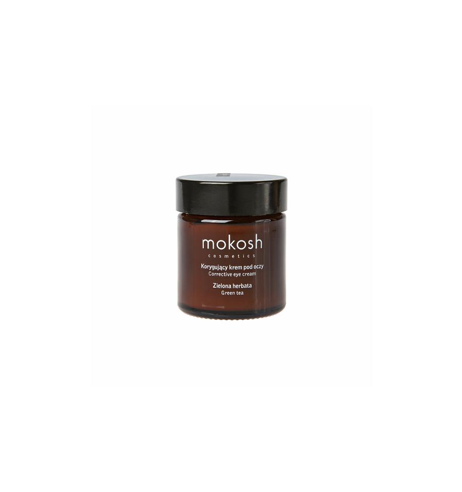Mokosh, Korygujący krem pod oczy Zielona herbata, 30 ml
