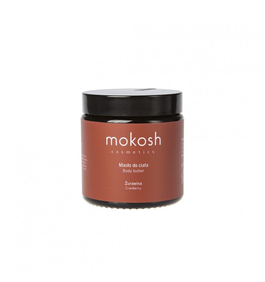 Mokosh, Masło do ciała Żurawina, 120 ml
