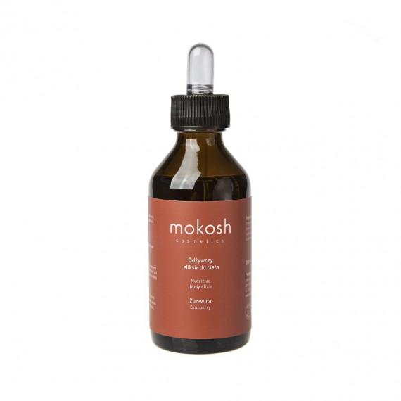 Mokosh, Odżywczy eliksir do ciała żurawina, 100 ml