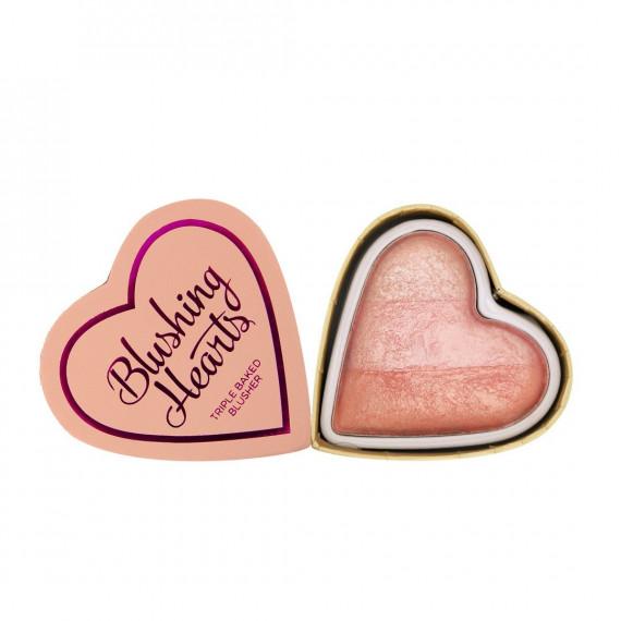 Makeup Revolution Róż do Policzków Peachy Pink Kisses