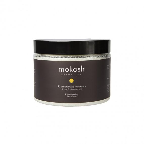 Mokosh, Sól Pomarańcza z cynamonem, 600 g