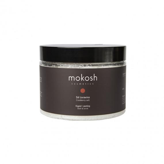 Mokosh, Sól Żurawina, 600 g