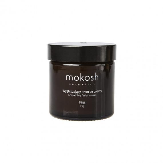 Mokosh, Wygładzający krem do twarzy figa, 60 ml