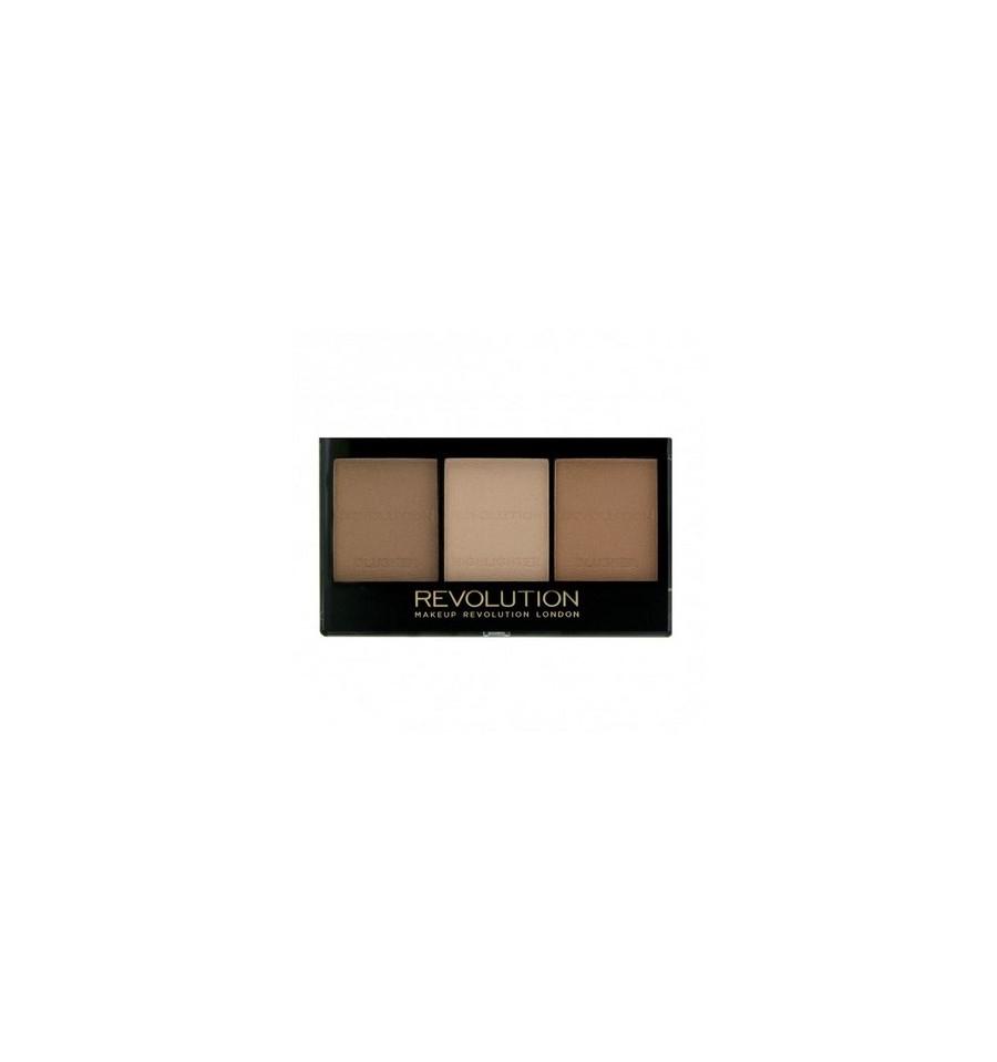 Makeup Revolution Zestaw do Konturowania Ultra Contour Kit Medium
