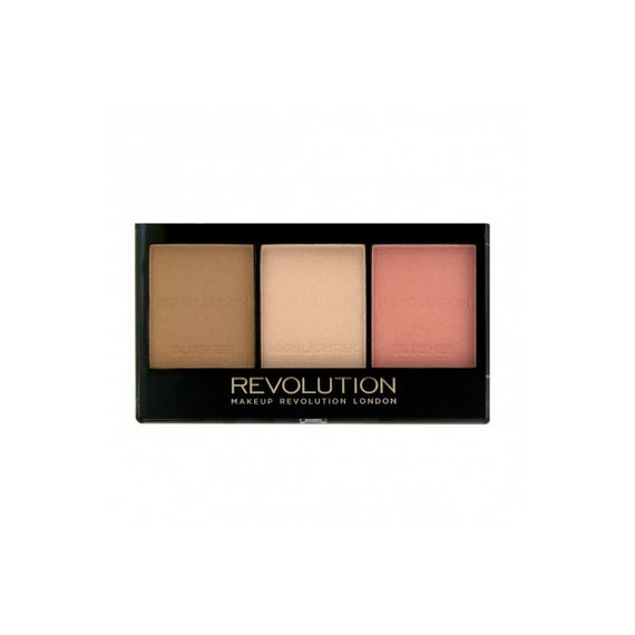 Makeup Revolution Zestaw do Konturowania Ultra Contour Kit Fair