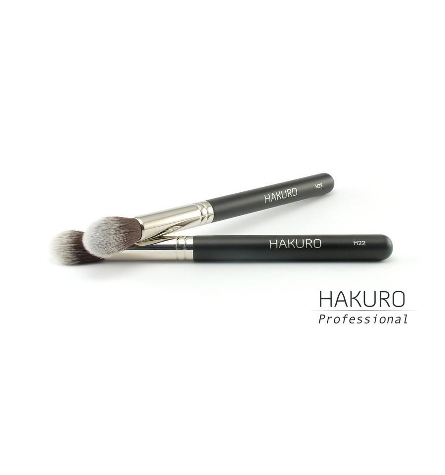 Hakuro H22 Pędzel do Korektora i Podkładu Wokół Oczu