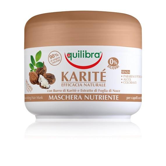 Equilibra, KARITE, Maska intensywnie odżywiająca z masłem Shea, 200ml