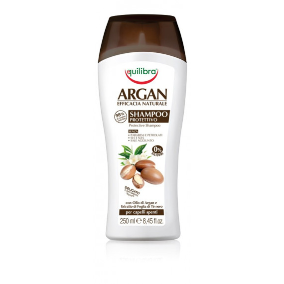 Equilibra, ARGAN, Arganowy szampon ochronny, 250 ml