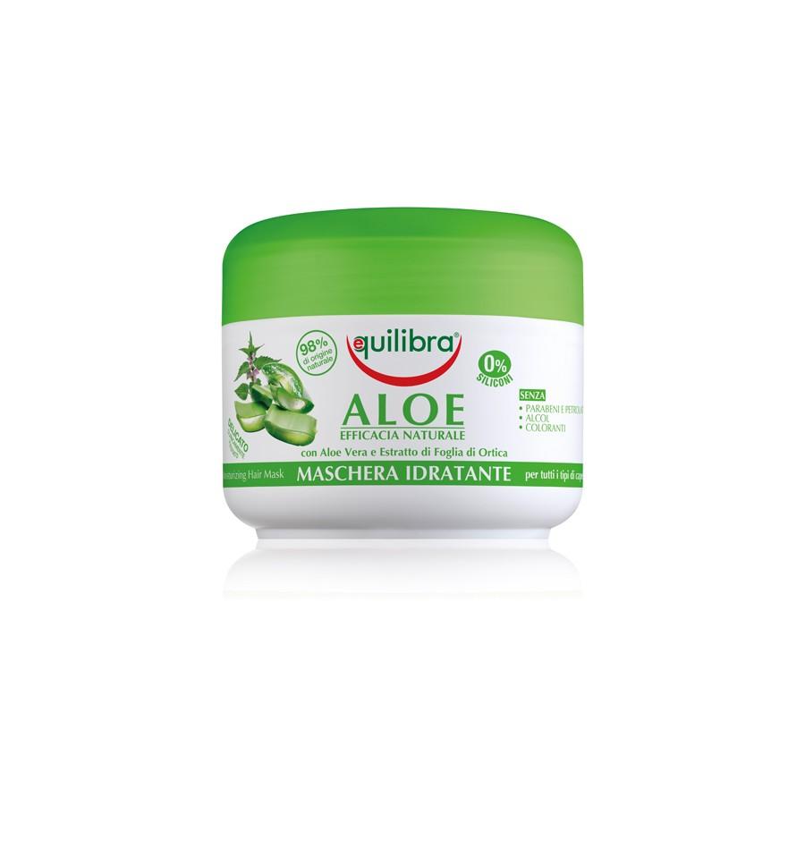 Equilibra, NATURALE, Nawilżająca maska aloesowa, 200 ml