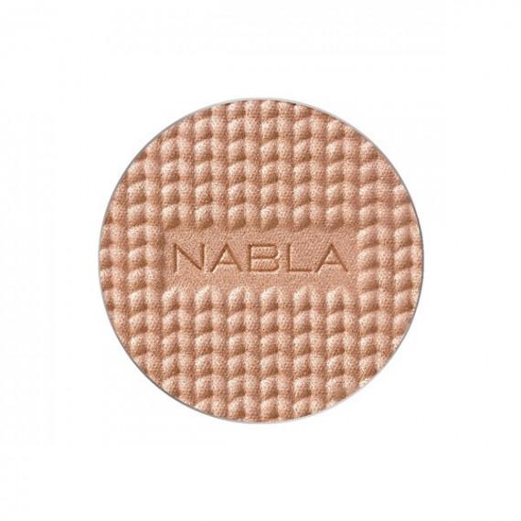 Nabla, Shade & Glow Pudrowy rozświetlacz REFILL Jasmine, 3,5 g