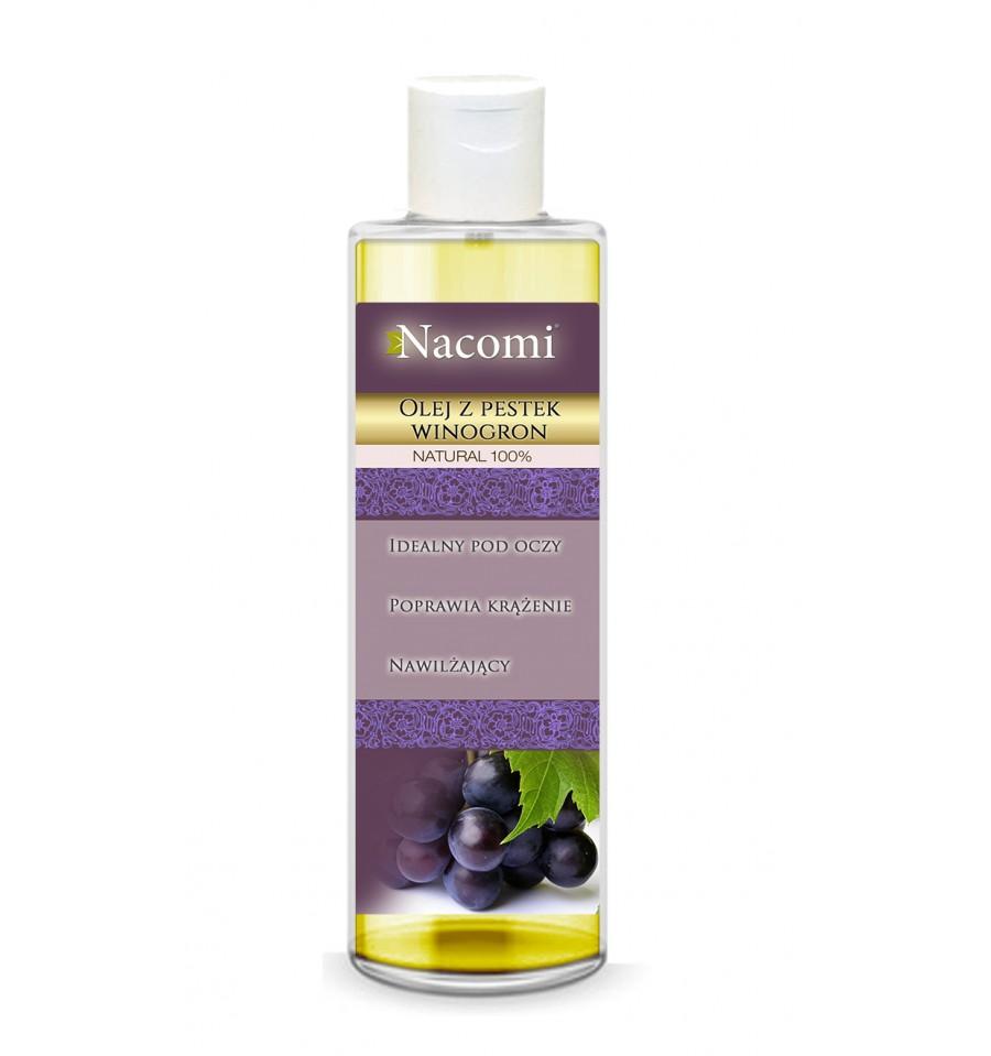 Nacomi, Olej z pestek winogron, 250 ml
