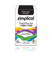Simplicol, EXPERT barwnik do tkanin, CZARNY, 150 g