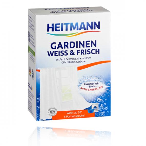 Heitmann, Wybielacz do firan i zasłon, 5x50g