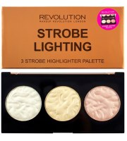 Makeup Revolution, Strobe Lighting Palette Paleta Rozświetlaczy