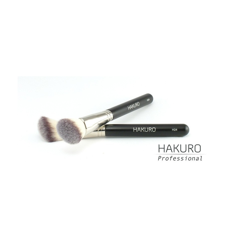 Hakuro H24 Pędzel do Różu, Bronzera i Kosmetyków Rozświetlających