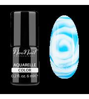 NeoNail, Lakier hybrydowy, Kolekcja AQUARELLE 5512-1 Blue Aquarelle, 6 ml