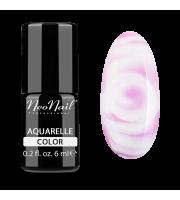 NeoNail, Lakier hybrydowy, Kolekcja AQUARELLE 5504-1 Pink Aquarelle, 6 ml
