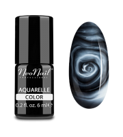 NeoNail, Lakier hybrydowy, Kolekcja AQUARELLE 5503-1 White Aquarelle, 6 ml