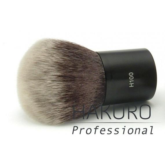 Hakuro H100 Pędzel Kabuki do Pudru, Podkładu Mineralnego i Produktów do Konturowania