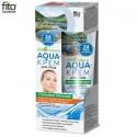 """Fitokosmetik, Aqua-krem do twarzy """"Głębokie odżywianie"""" z olejem brzoskwiniowym, 45 ml"""