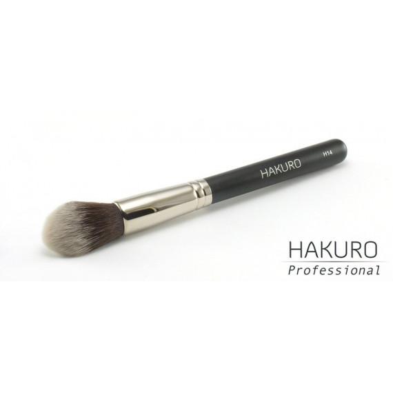 Hakuro H14 Pędzel do Różu, Bronzera i Kosmetyków Rozświetlających