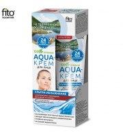 """Fitokosmetik, Aqua-krem do twarzy """"Ultra nawilżenie"""" z wodą termalną z Kamczatki, 45 ml"""