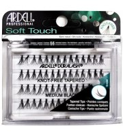 Ardell, Kępki rzęs Soft Touch Knot Free Medium Black