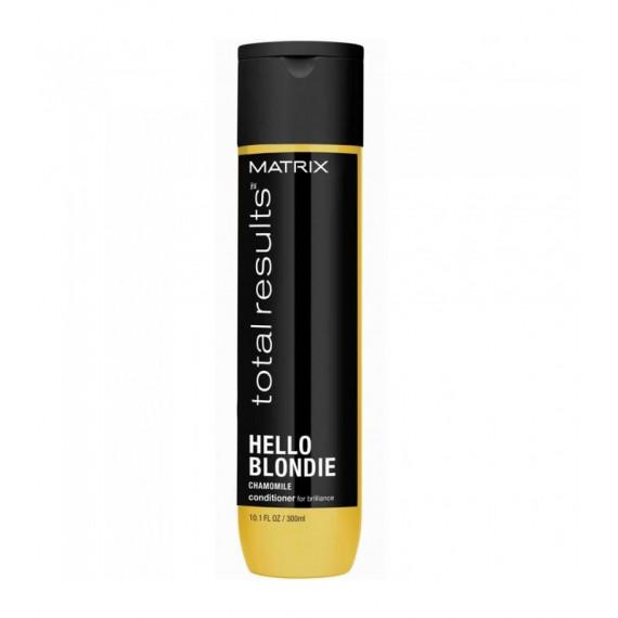 Matrix Total Results, Hello Blondie, Odżywka do włosów blond, 300 ml