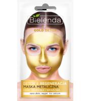 Bielenda, GOLD DETOX Detoksykująca maska metaliczna do cery dojrzałej i wrażliwej, 8 g