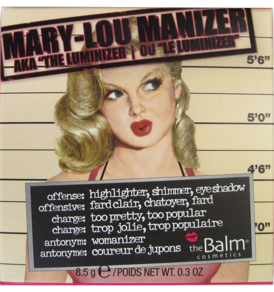 The Balm Mary-Lou Manizer Wielofunkcyjny Rozświetlacz
