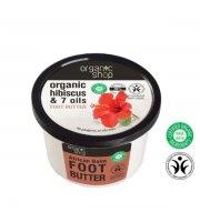 Organic Shop, Masło do stóp HIBISCUS & 7 OLEJÓW, 250 ml
