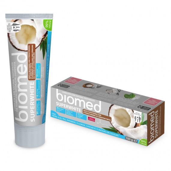 Biomed, Superwhite, Pasta do zębów wybielająca, 100 g