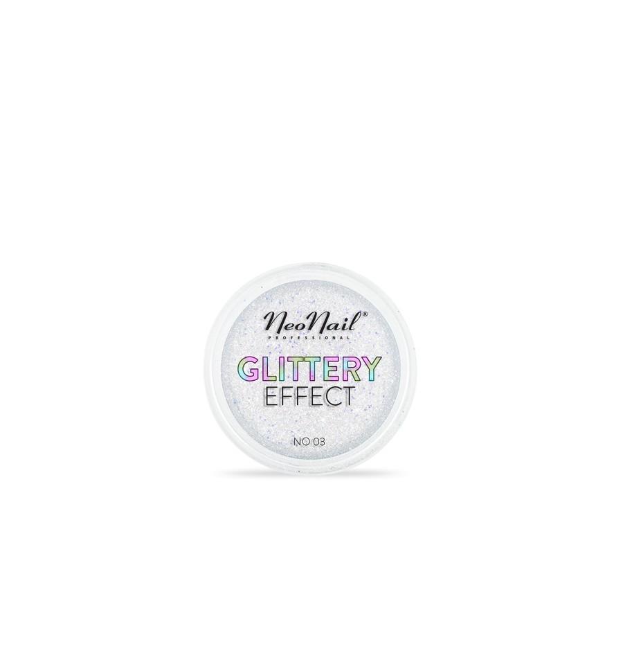 NeoNail, Puder Glittery Effect No. 03 5550-3, 2 g