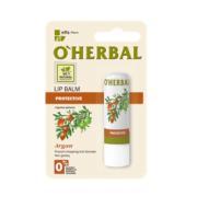 O'Herbal, Ochronny balsam do ust z olejkiem arganowym, 4,8 g