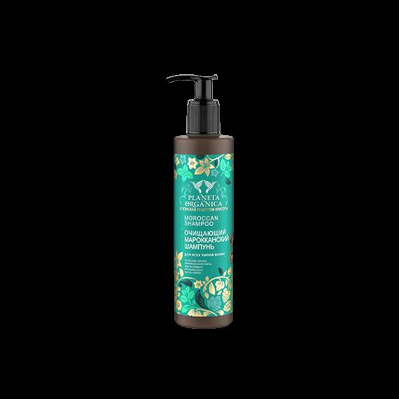 Planeta Organica, Szampon MAROKAŃSKI, oczyszczający, 280 ml