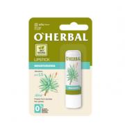 O'Herbal, Nawilżająca, bezbarwna pomadka do ust z ekstraktem z aloesu, SPF 15, 4,8 g