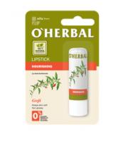 O'Herbal, Odżywcza, bezbarwna pomadka do ust z ekstraktem goji, 4,8 g