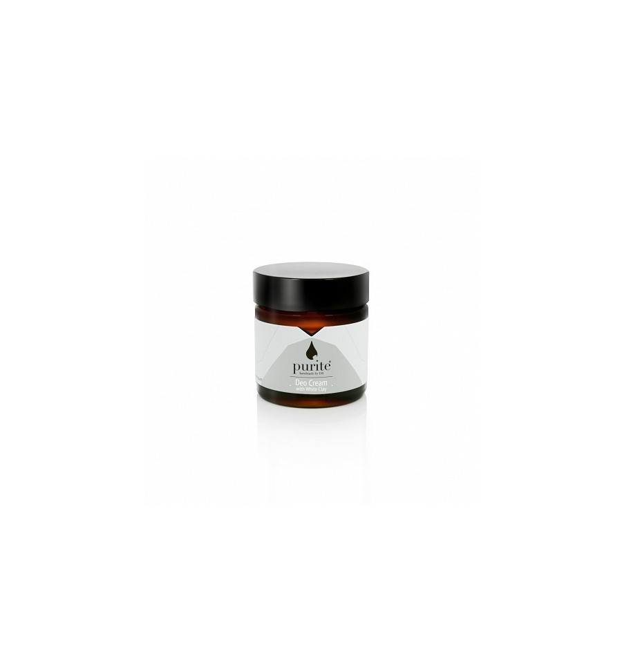 Purite, Dezodorant w kremie z Białą Glinką, 60 ml