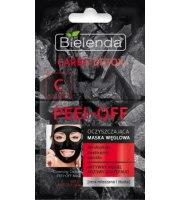 Bielenda, Carbo Detox, Oczyszczająca maska węglowa PEEL–OFF, 2x6 g