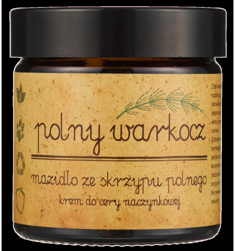 Polny Warkocz, Mazidło ze skrzypu polnego - krem do cery naczynkowej, 50 ml