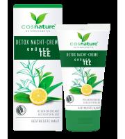 Cosnature, Naturalny krem detox na noc z zieloną herbatą, 50 ml