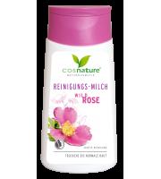 Cosnature, Naturalne mleczko oczyszczające do twarzy z dziką różą, 150 ml