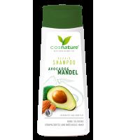 Cosnature, Naturalny regenerujący szampon do włosów z awokado i migdałami, 200 ml